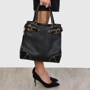 Louis Vuitton Majestueux Suhali Leather Black Tote